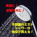 佐久穂町周辺の皆さまに朗報!今、取替用シャワーヘッドが熱い!ミラブルプラス、リファファインバブルに続きLIXILからもウルトラファインバブルのエコアクアシャワーSPAが新発売!