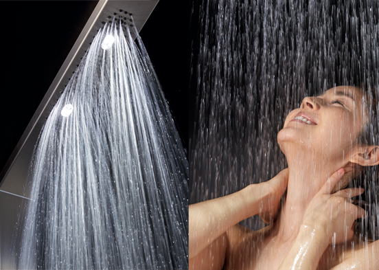 ちょつと贅沢な大粒のシャワー